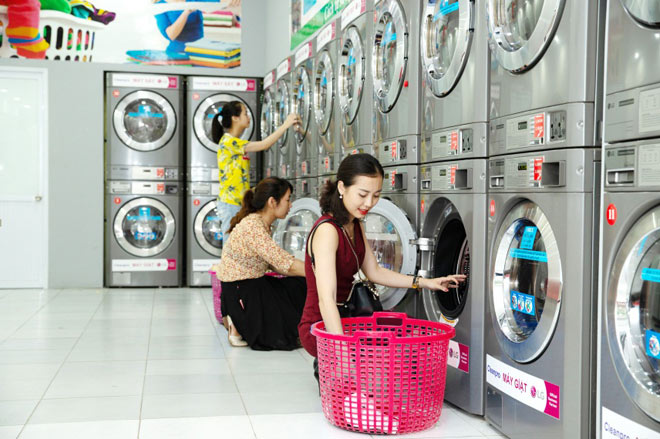 Dịch vụ giặt ủi quần áo Bình Dương