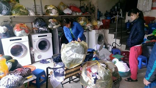 Nhận đồ giặt sấy