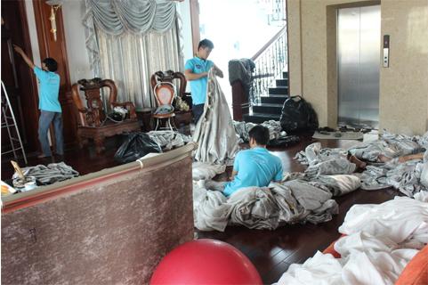 Thuê dịch vụ giặt ủi Thủ Dầu Một