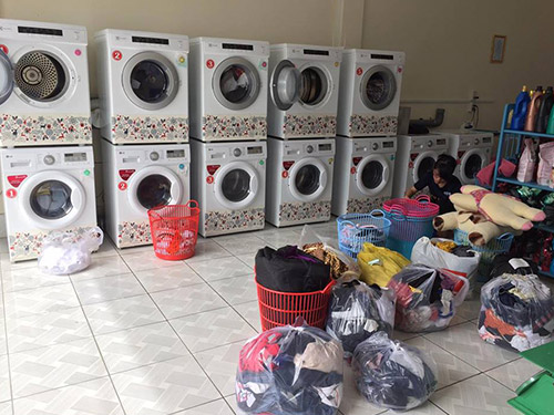 Dịch vụ giặt sấy uy tín của Giặt ủi công nghiệp Bình Dương